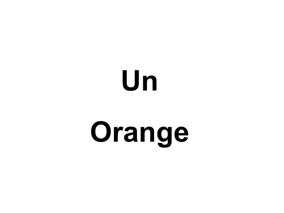 Un Orange