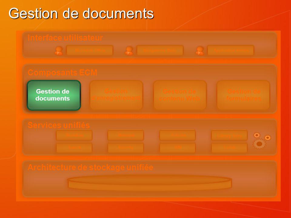 Gestion d'enregistrement Gestion de formulaires