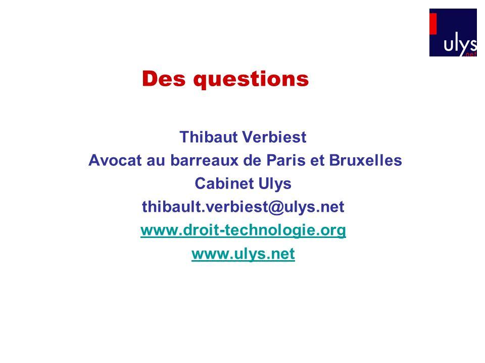Avocat au barreaux de Paris et Bruxelles