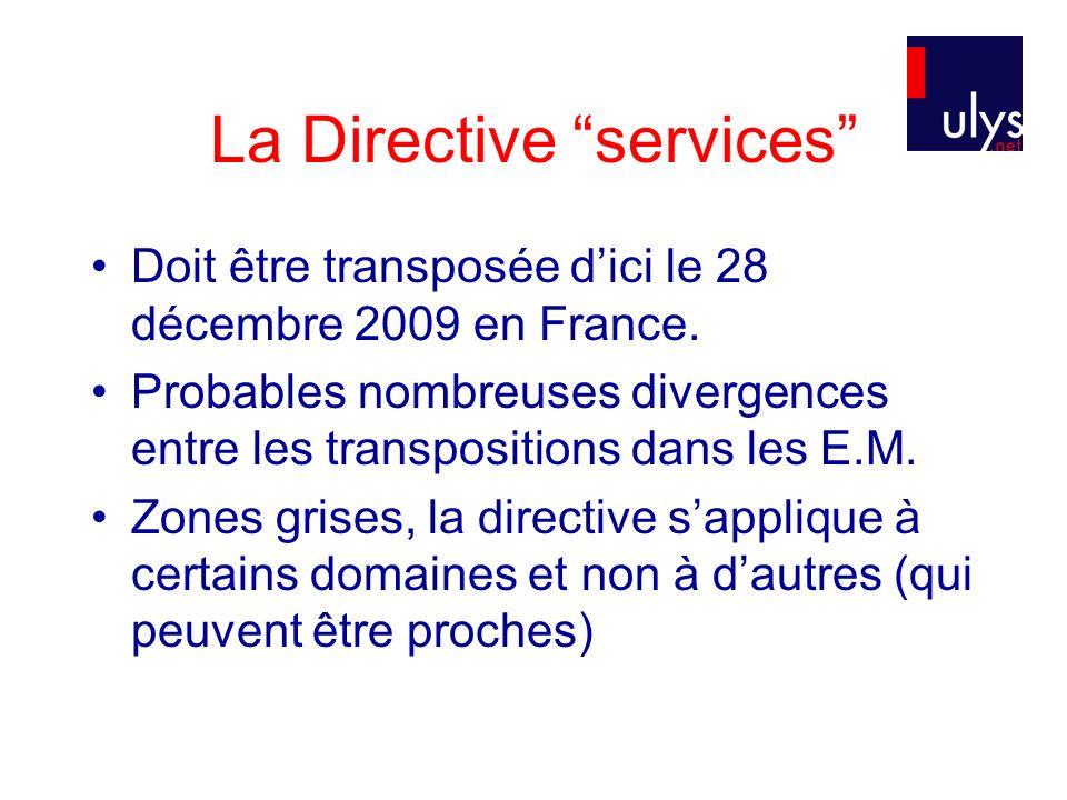 La Directive services