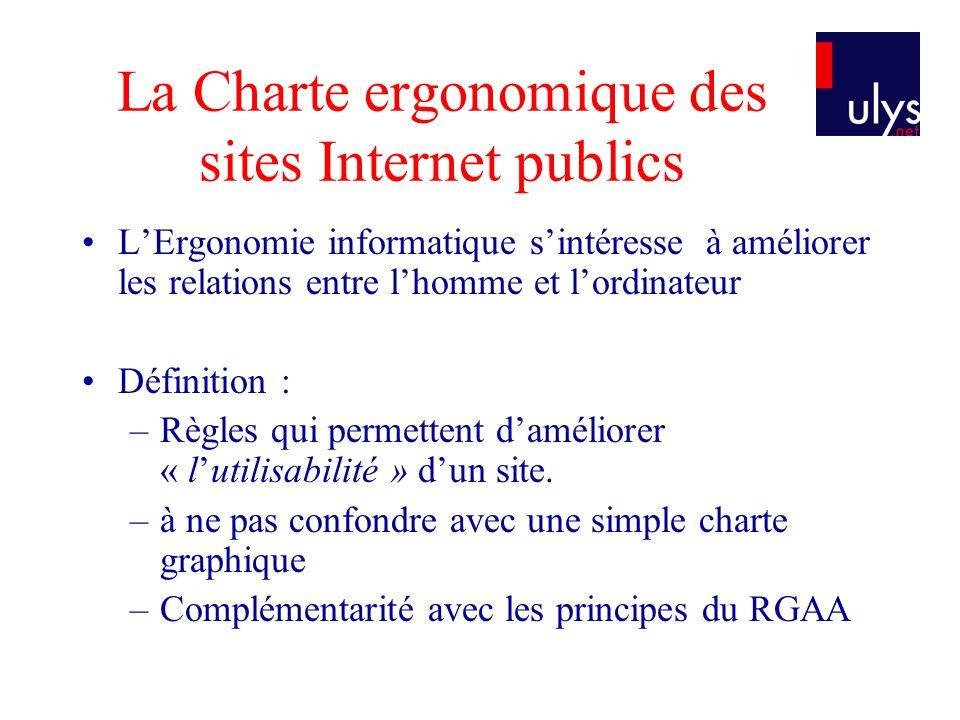 La Charte ergonomique des sites Internet publics
