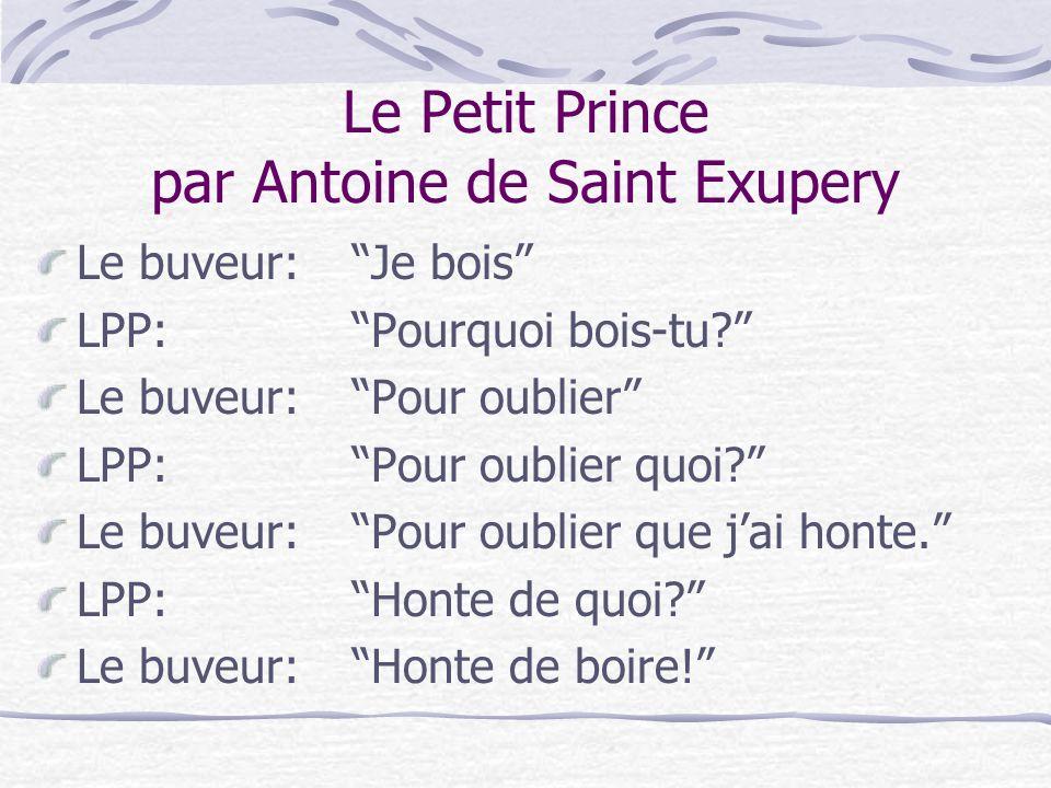 Le Petit Prince par Antoine de Saint Exupery