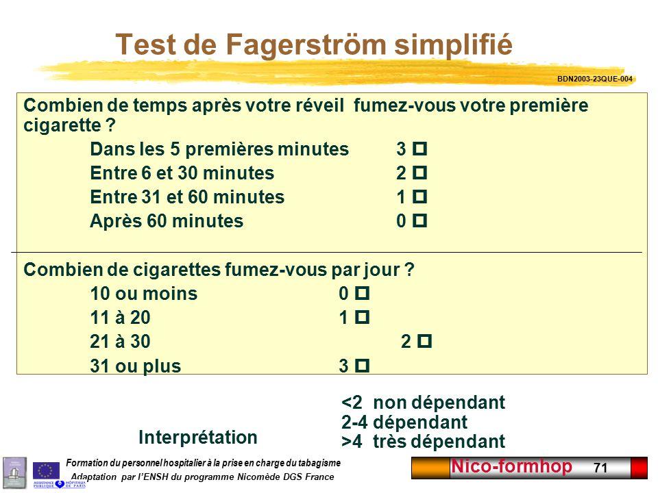 test fagerstrom - 28 images - la d 233 pendance 224 la