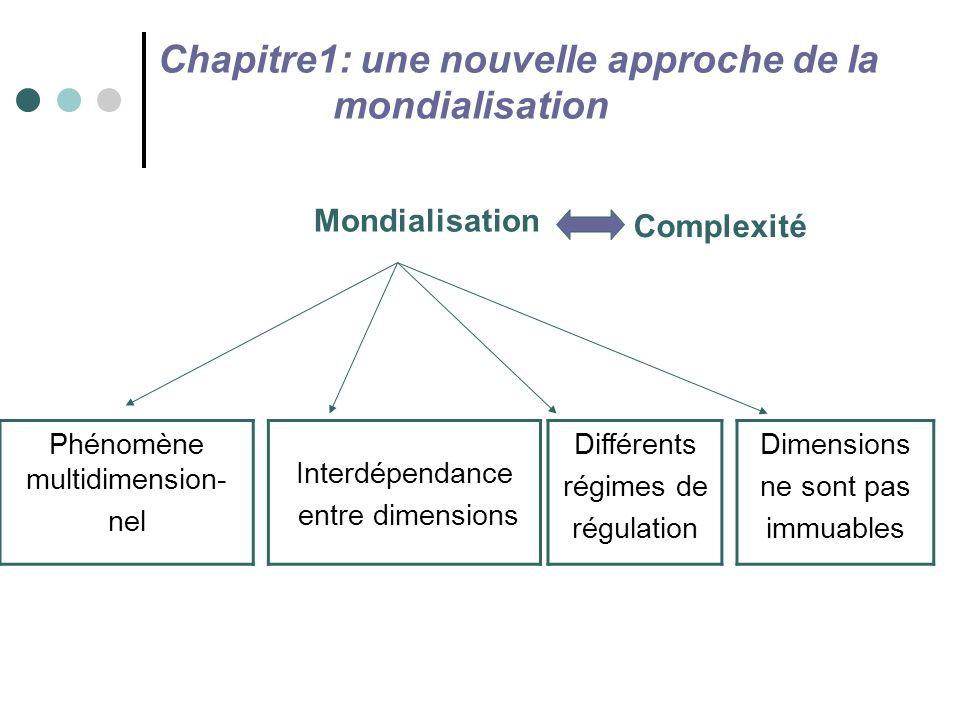 Chapitre1: une nouvelle approche de la mondialisation