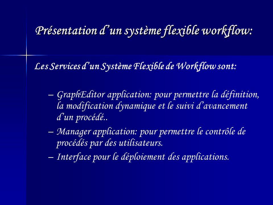 Présentation d'un système flexible workflow: