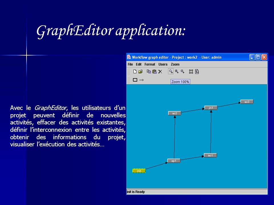 GraphEditor application: