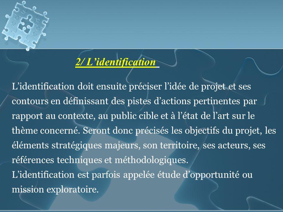 2/ L'identification