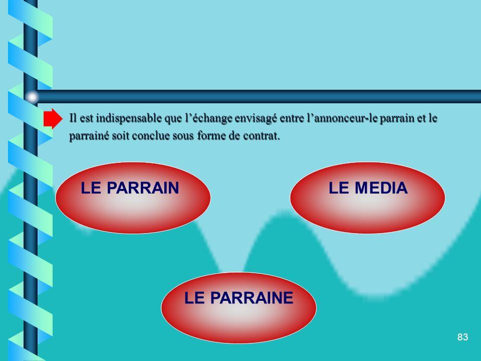 LE PARRAIN LE MEDIA LE PARRAINE