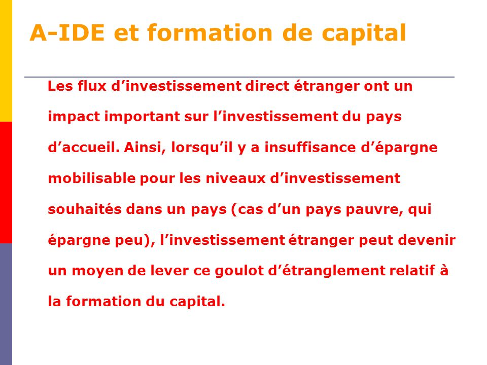 A-IDE et formation de capital