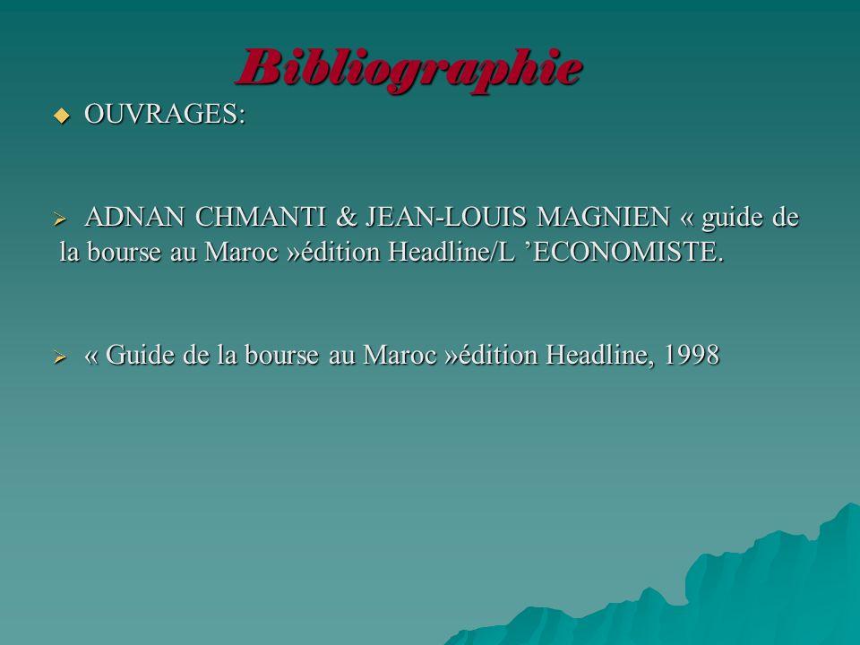 Bibliographie OUVRAGES: ADNAN CHMANTI & JEAN-LOUIS MAGNIEN « guide de
