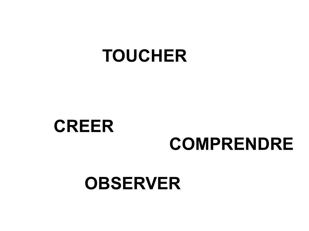 TOUCHER CREER COMPRENDRE OBSERVER
