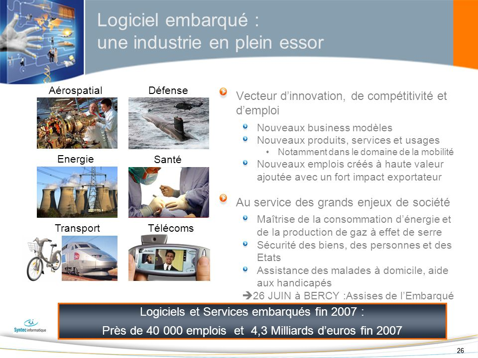 Logiciel embarqué : une industrie en plein essor