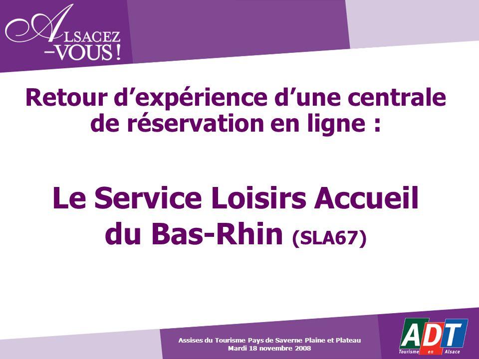 Le Service Loisirs Accueil du Bas-Rhin (SLA67)