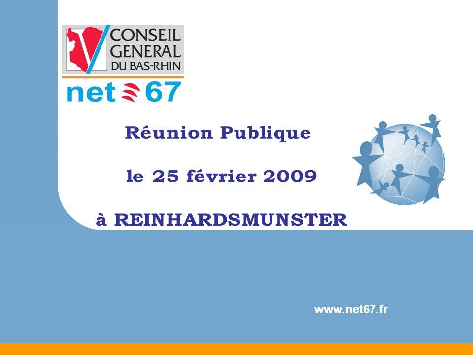 Réunion Publique le 25 février 2009 à REINHARDSMUNSTER www.net67.fr