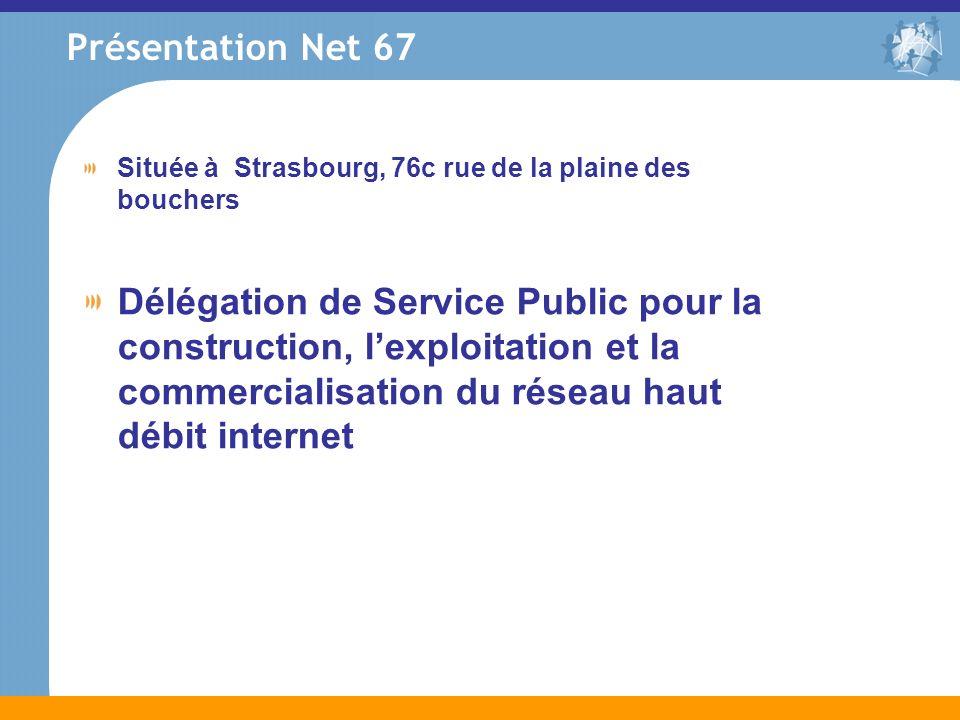 Présentation Net 67 Située à Strasbourg, 76c rue de la plaine des bouchers.