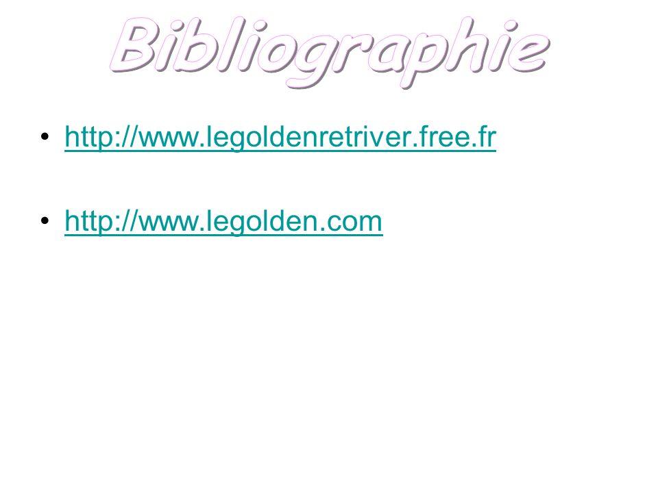 Bibliographie http://www.legoldenretriver.free.fr