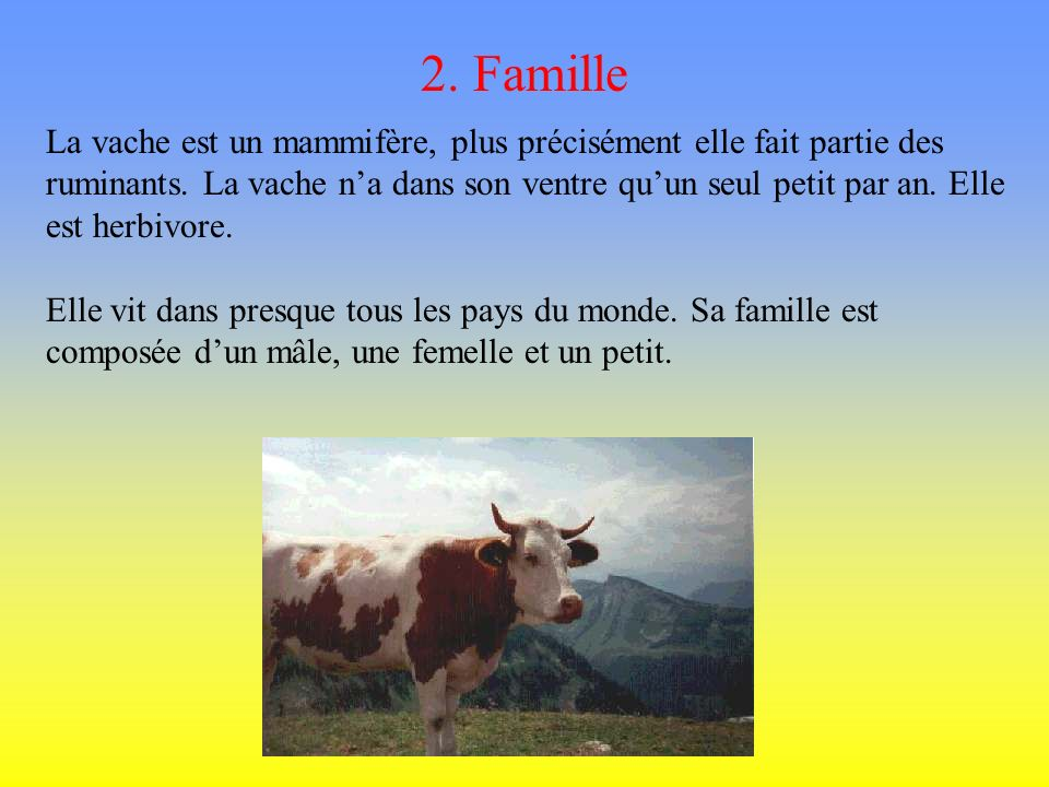 2. Famille