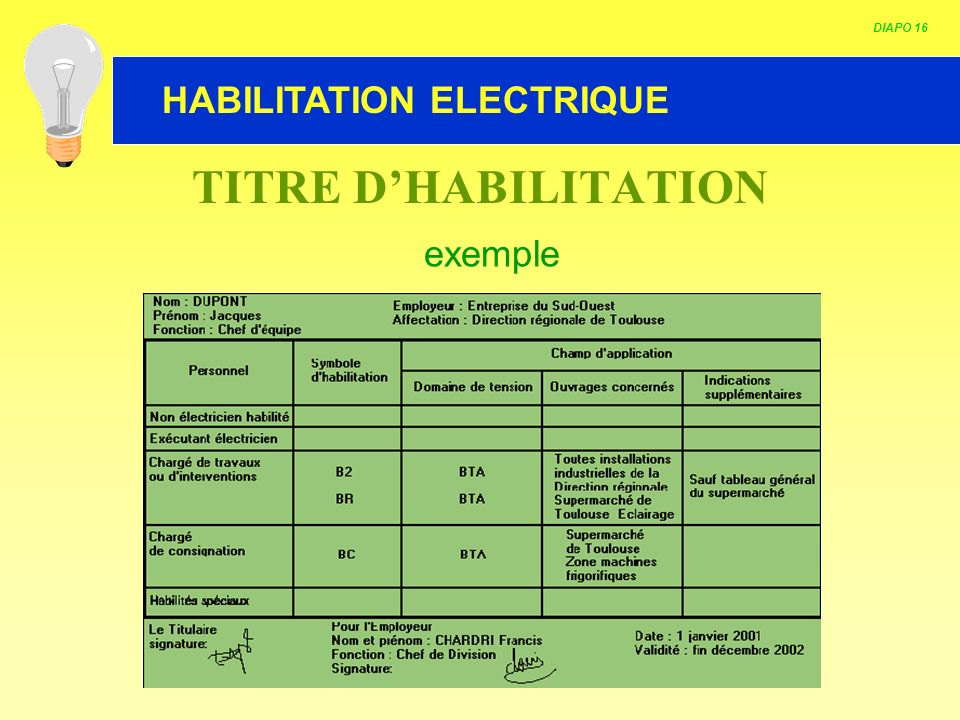 DIAPO 16 TITRE D'HABILITATION exemple