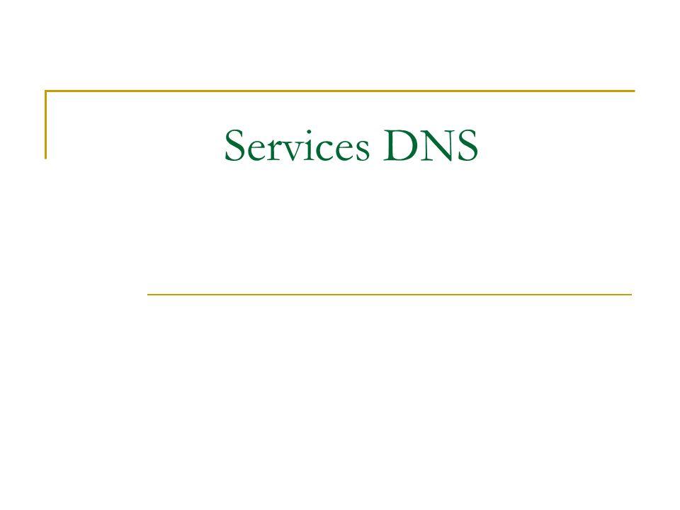 Services DNS