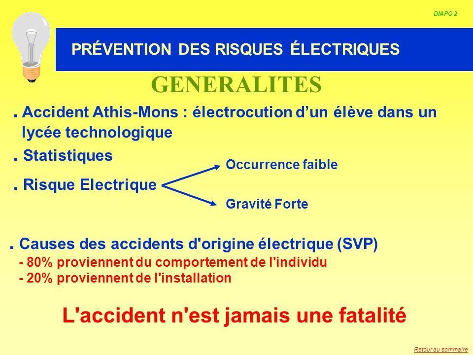 L accident n est jamais une fatalité