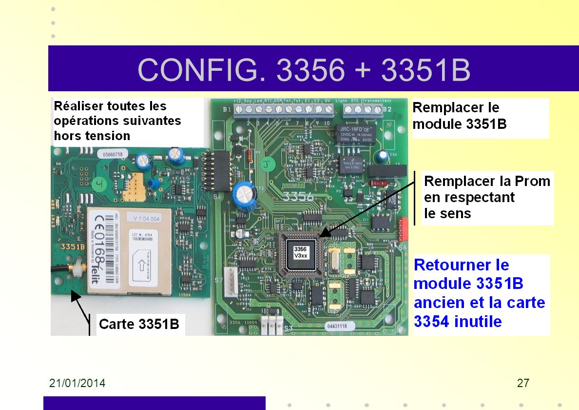 CONFIG. 3356 + 3351B 26/03/2017