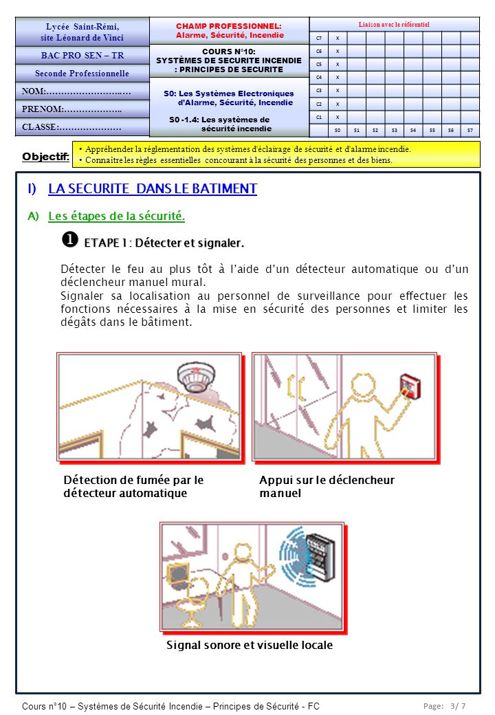 Fiche de preparation d une sequence de cours ppt video for Fonction d un batiment