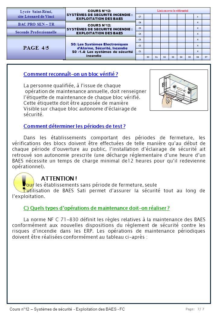 PAGE 4/5 Comment reconnaît-on un bloc vérifié