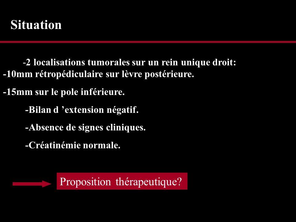 Situation Proposition thérapeutique