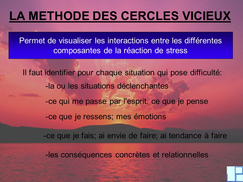 LA METHODE DES CERCLES VICIEUX