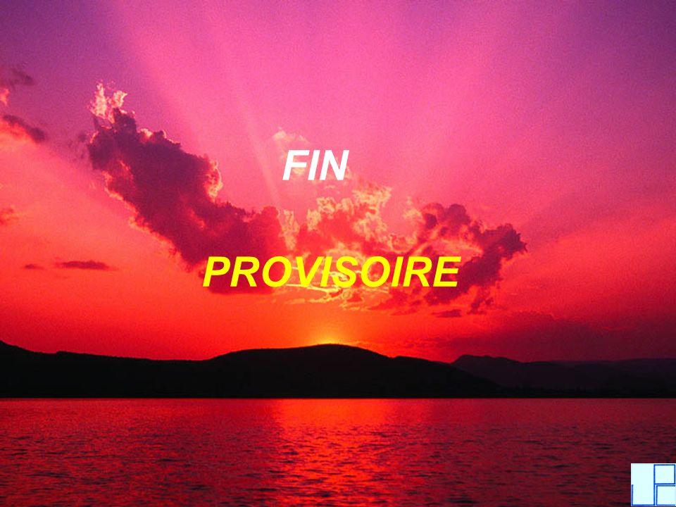 FIN PROVISOIRE
