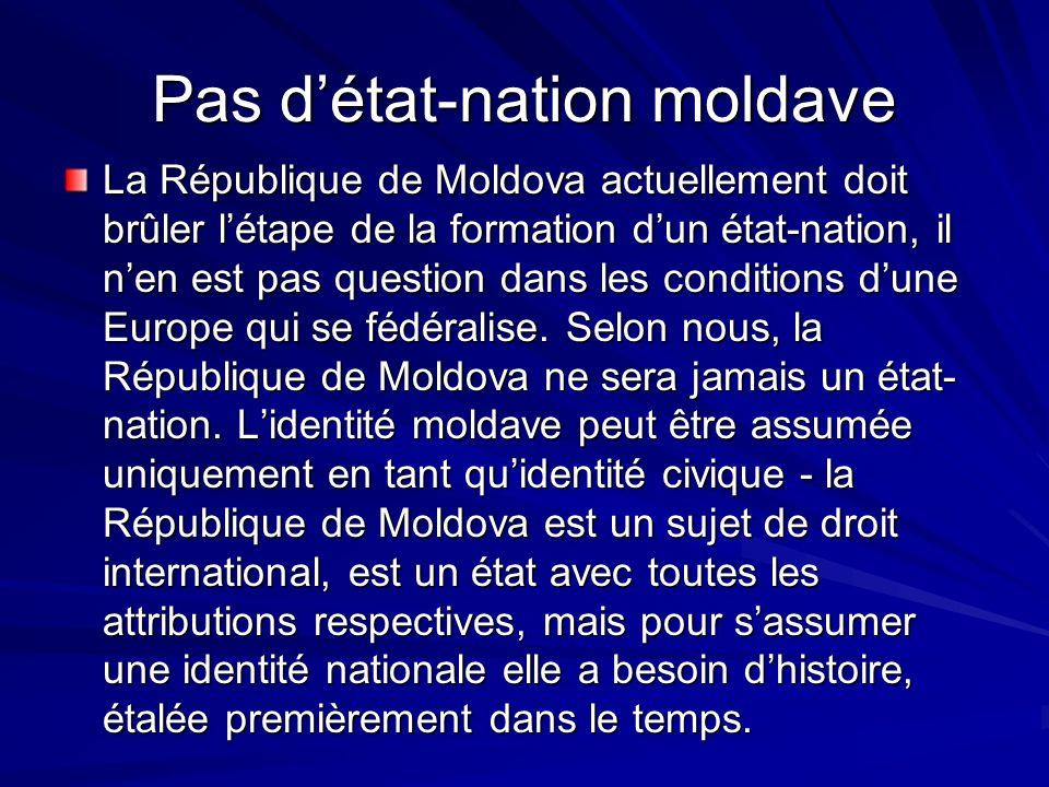 Pas d'état-nation moldave