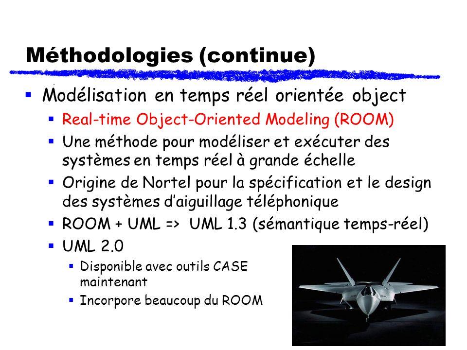 Méthodologies (continue)