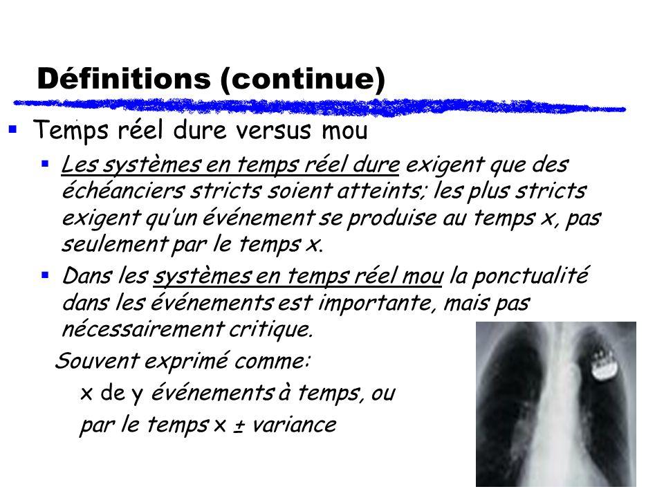 Définitions (continue)