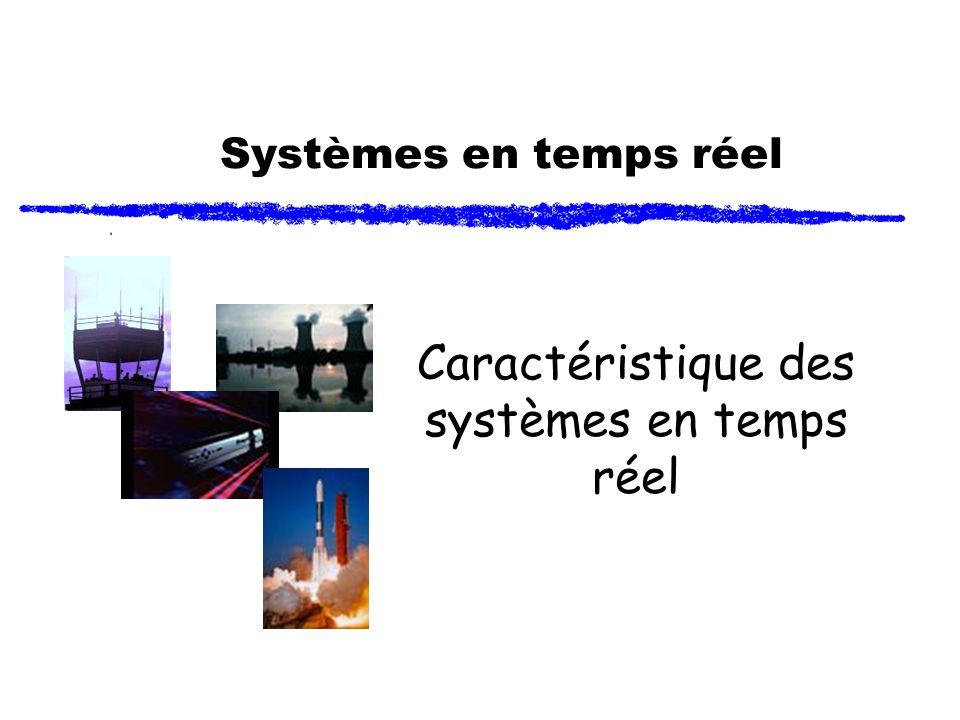 Caractéristique des systèmes en temps réel