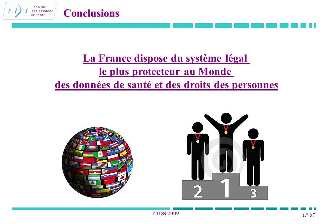 La France dispose du système légal le plus protecteur au Monde