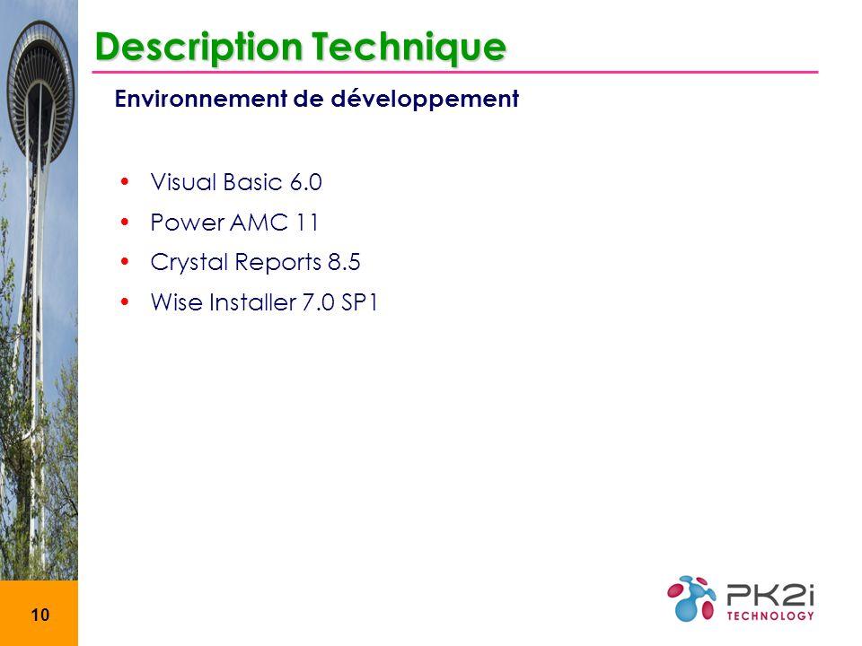 Description Technique