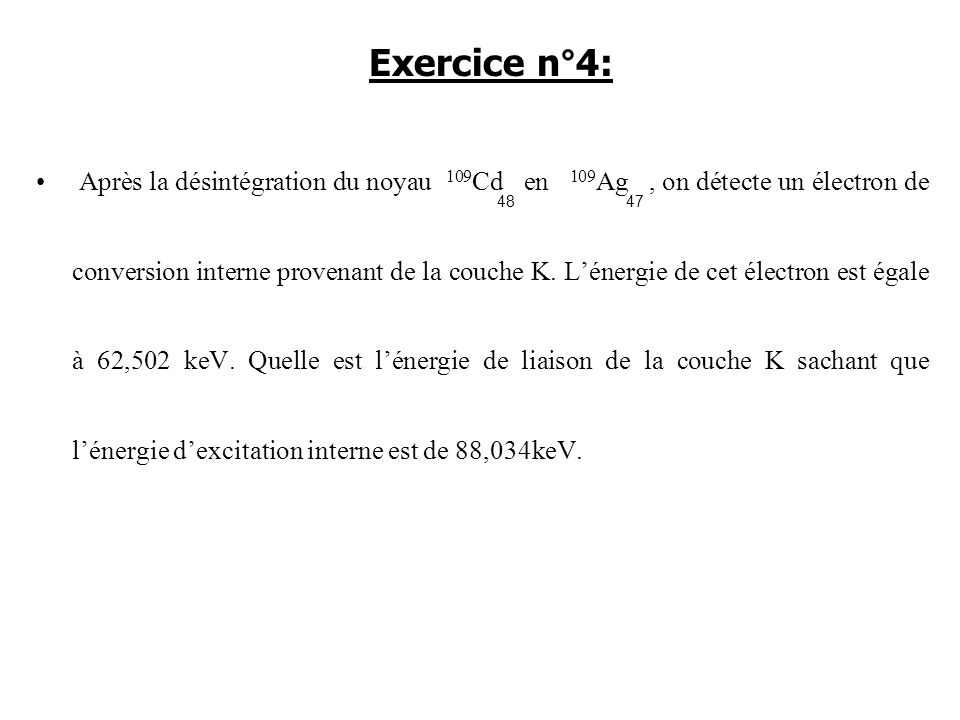 Exercice n°4: