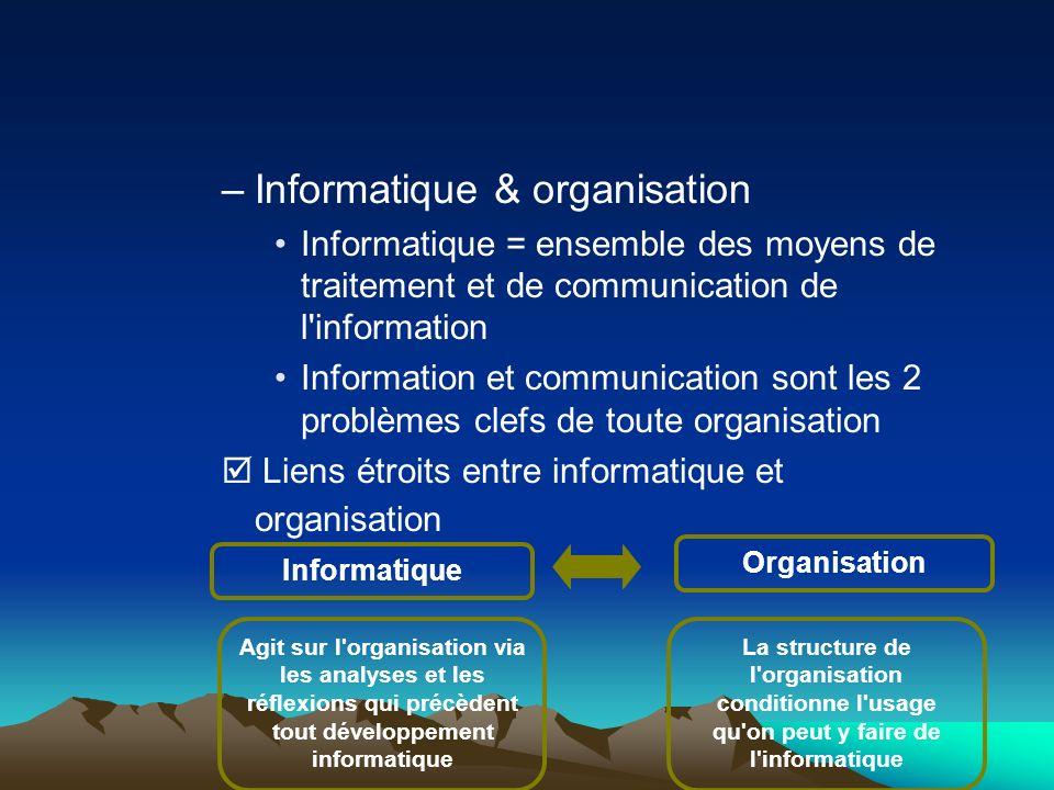 Informatique & organisation
