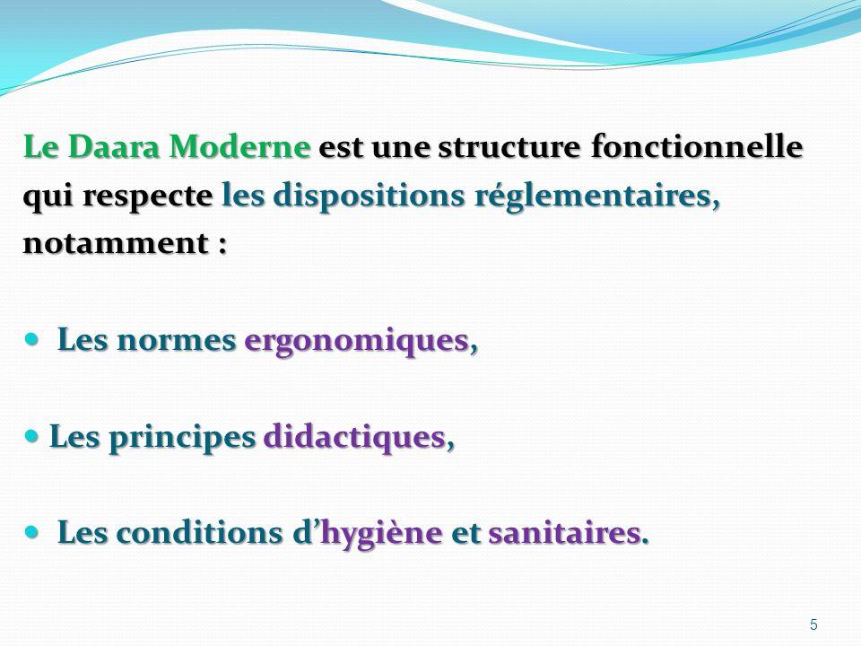 Le Daara Moderne est une structure fonctionnelle