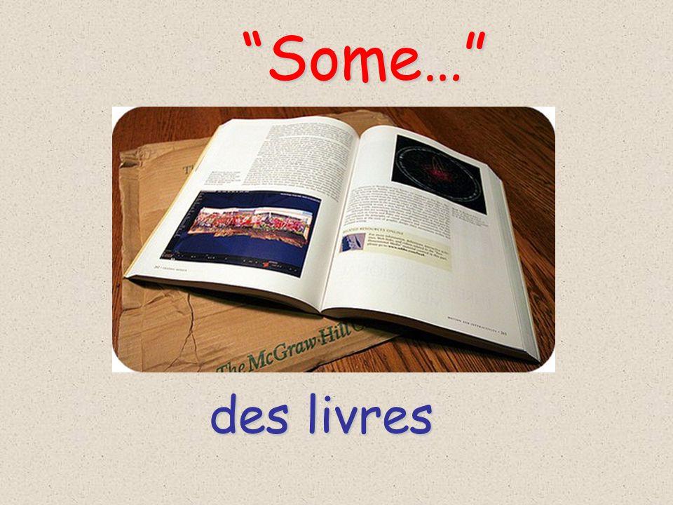 Some… des livres