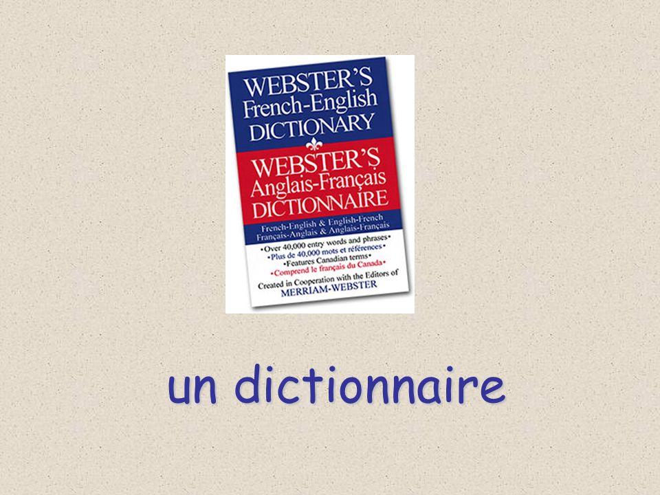 un dictionnaire