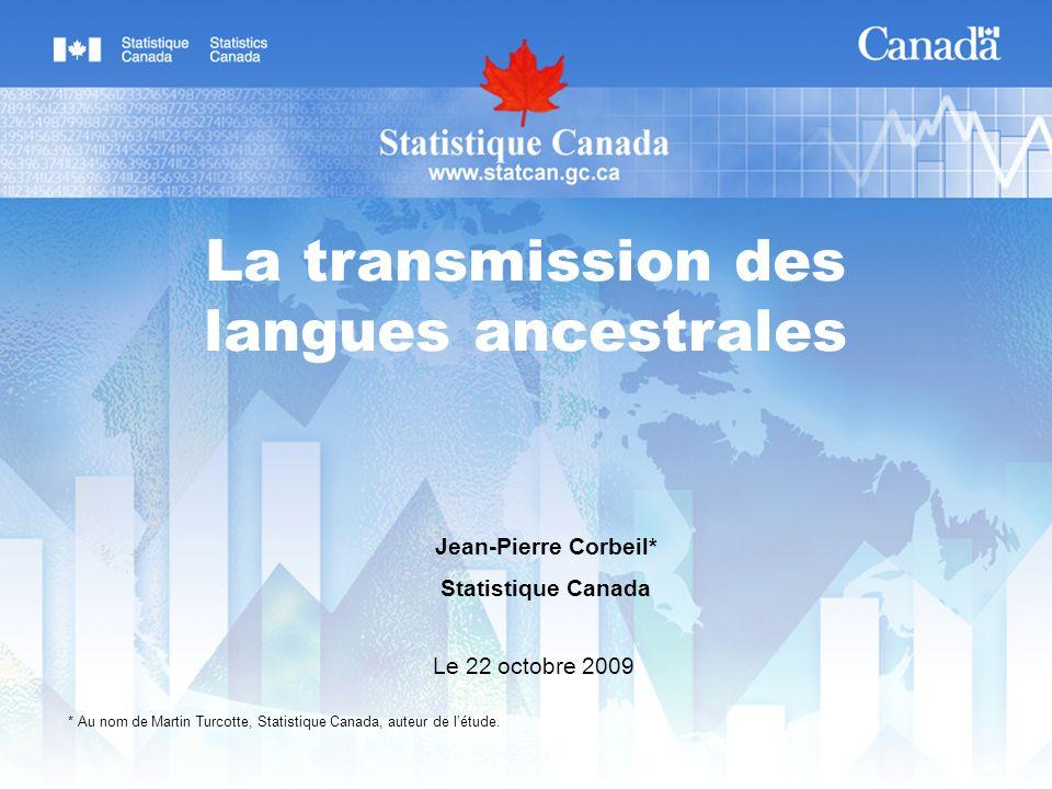 La transmission des langues ancestrales