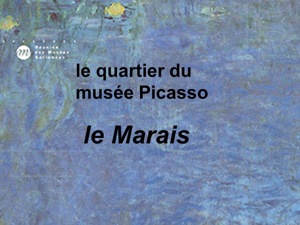 le quartier du musée Picasso