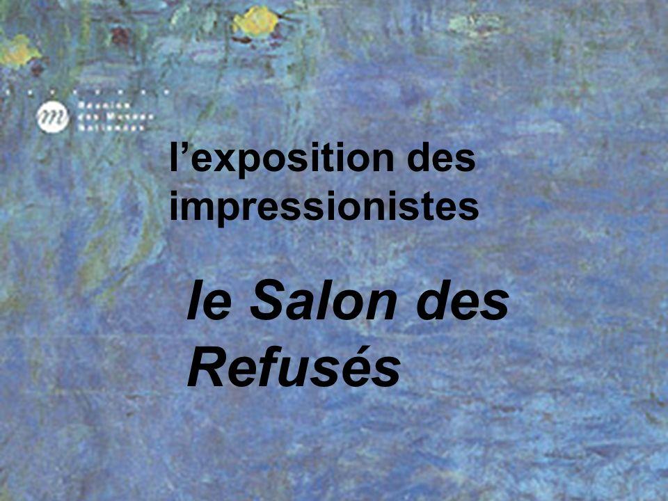 l'exposition des impressionistes