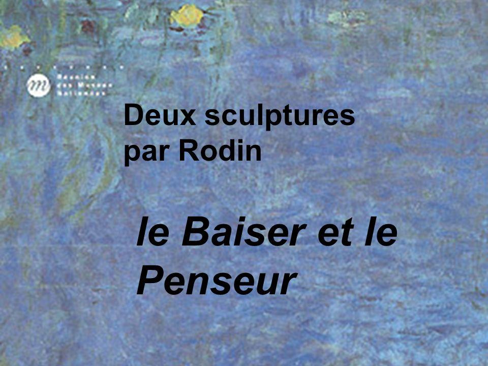 Deux sculptures par Rodin