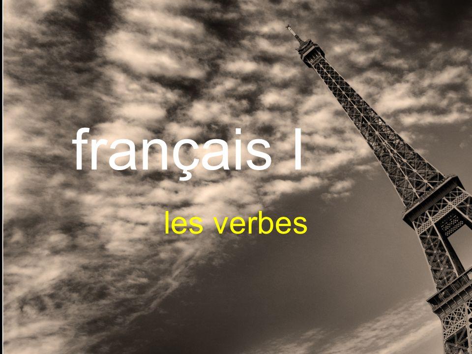 français I les verbes