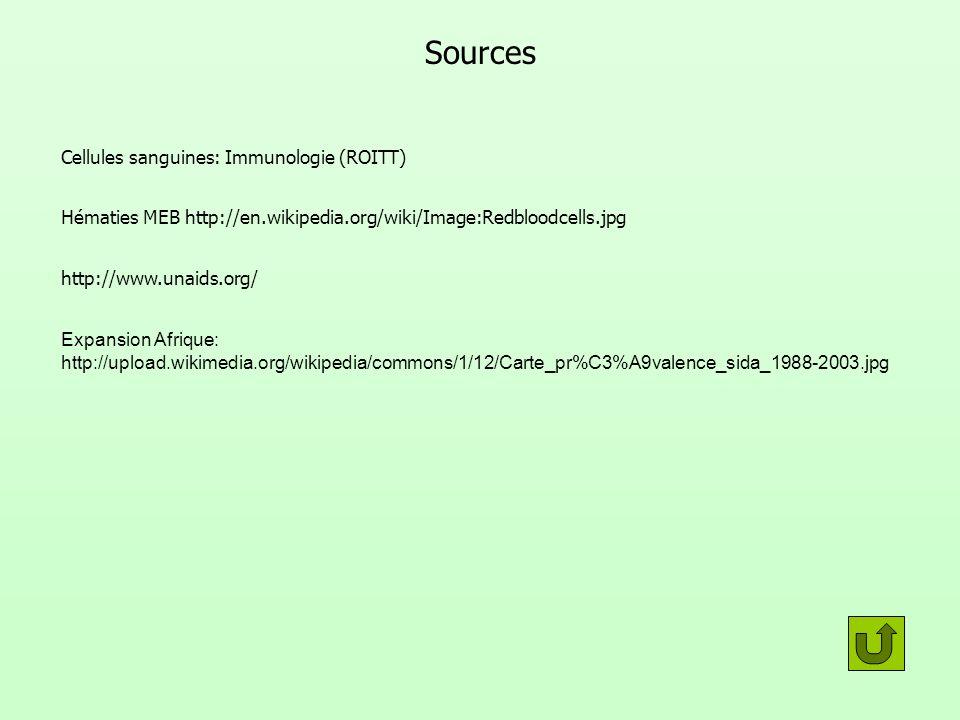Sources Cellules sanguines: Immunologie (ROITT)