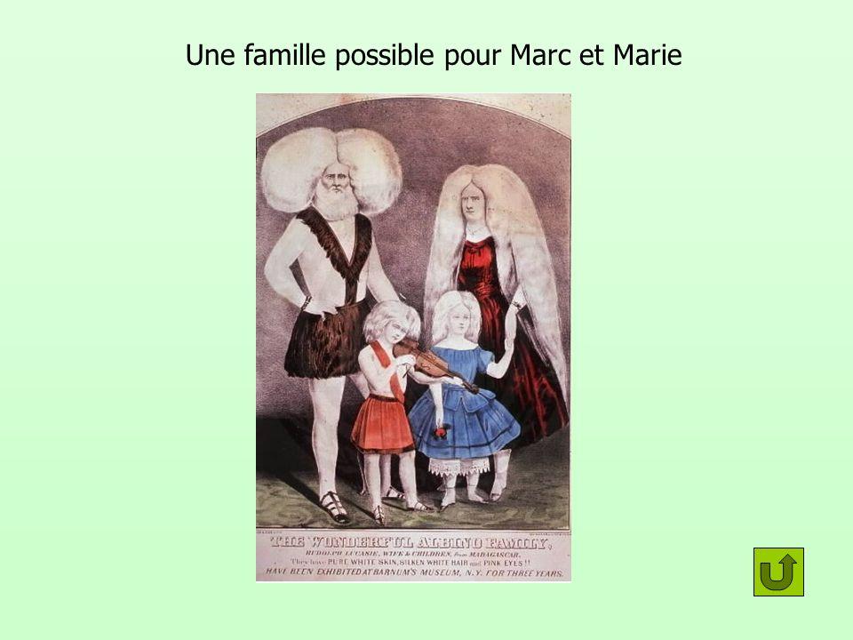 Une famille possible pour Marc et Marie