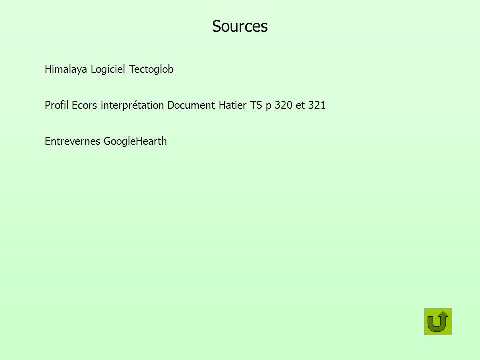 Sources Himalaya Logiciel Tectoglob