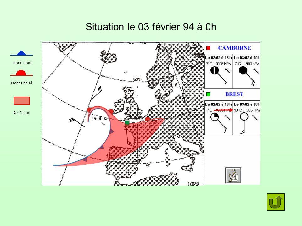 Situation le 03 février 94 à 0h